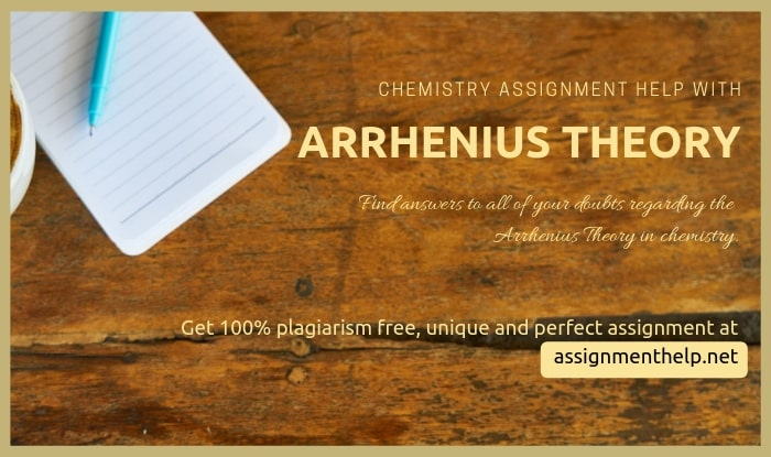 arrhenius theory assignment help