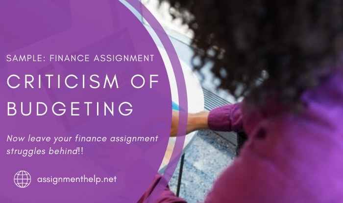 Assignment Help Budgeting