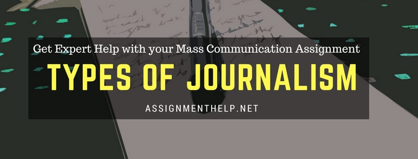 assignment help with journalism