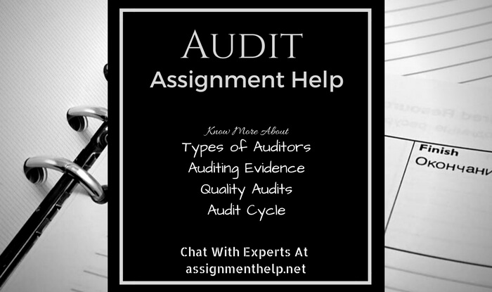 Audit Assignment Help
