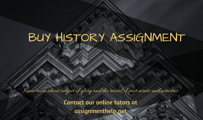 Buy History Assignment from Assignmenthelp