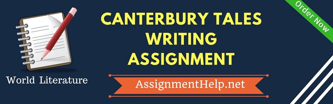 Canterbury Tales Writing Assignment