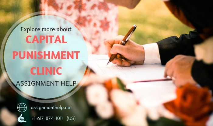 Capital Punishment Clinic Assignment Help
