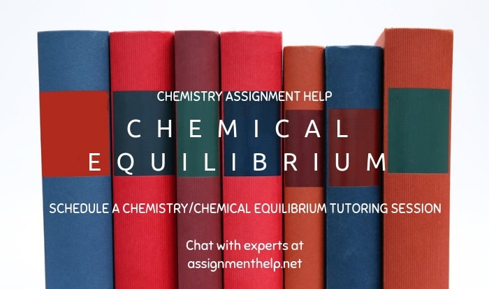 Chemical Equilibrium Assignment Help
