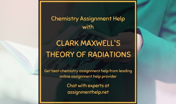 Clark Maxwell's Theory of Radiations
