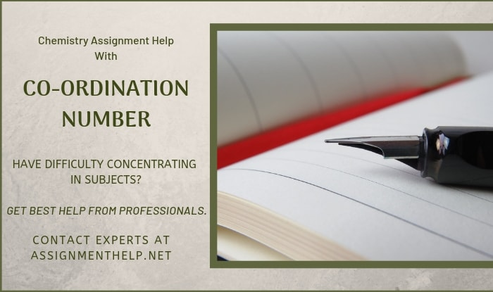Co-Ordination Number Assignment Help