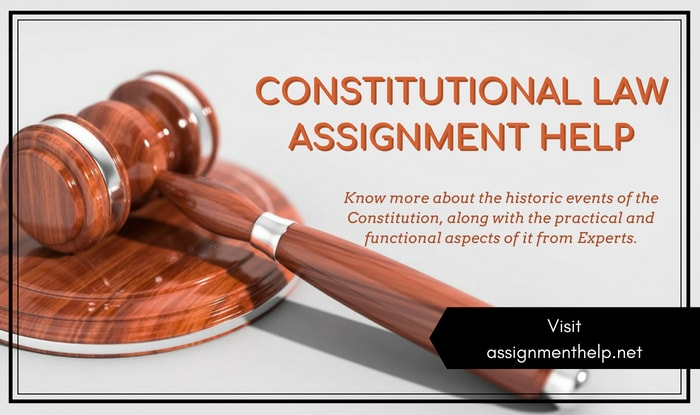 Constitutional Law Assignment Help
