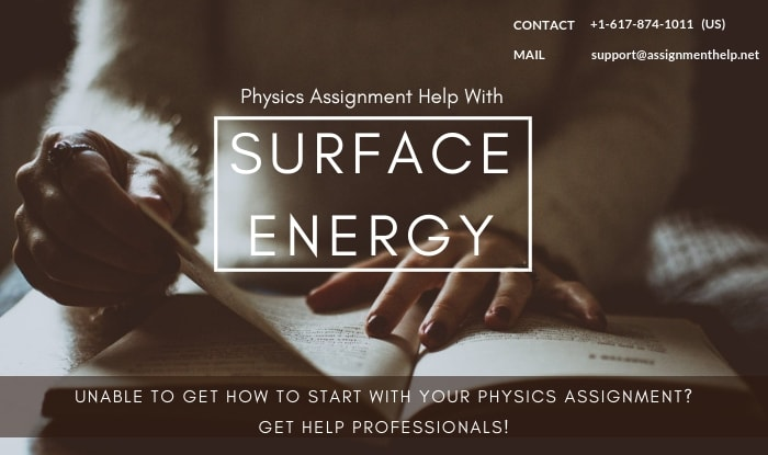 Surface Energy Assignment Help