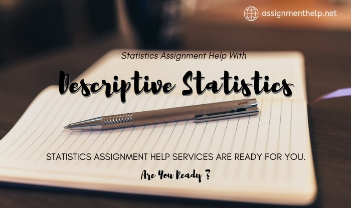 Descriptive Statistics Assignment Help