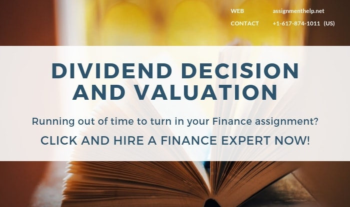 dividend decision and valuation
