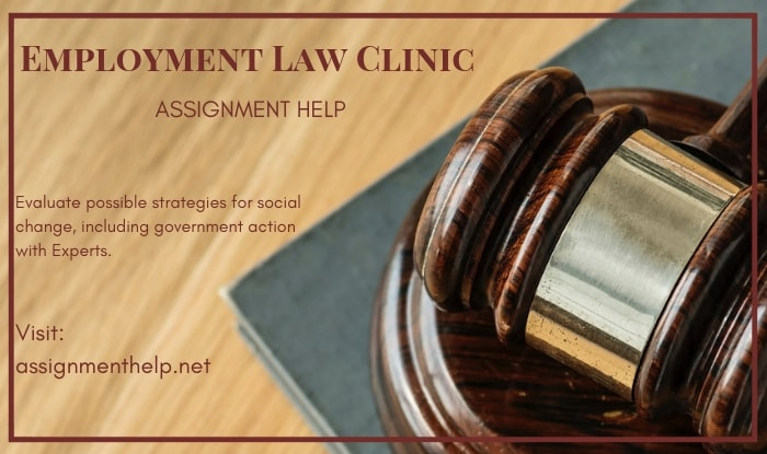 Employment Law Clinic Assignment Help