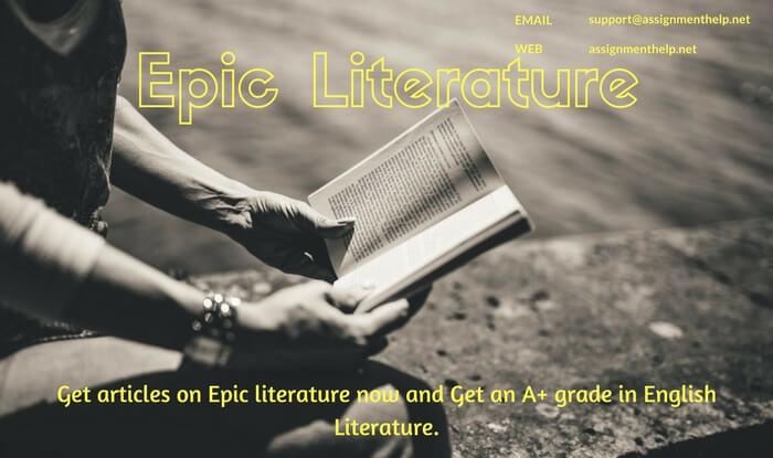 epic literature writing help