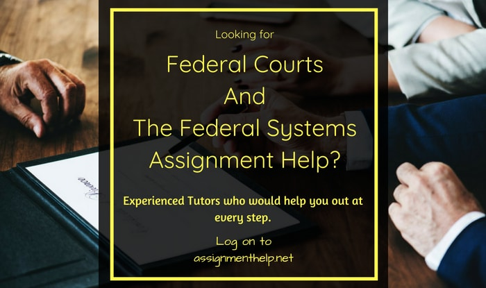 Federal Systems Assignment Help