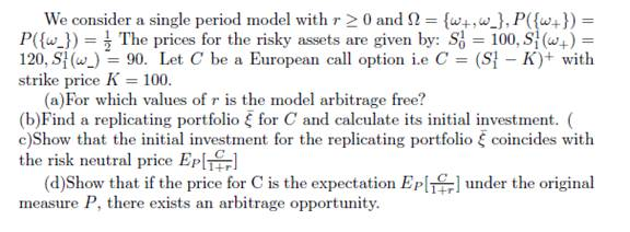 finance sample assignment