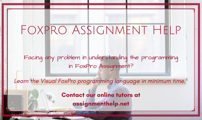 Foxpro Assignment Help