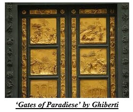 Gates of Paradiese by Ghiberti