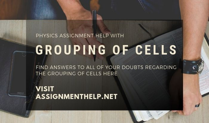 Physics Assignment Help With Grouping of Cells