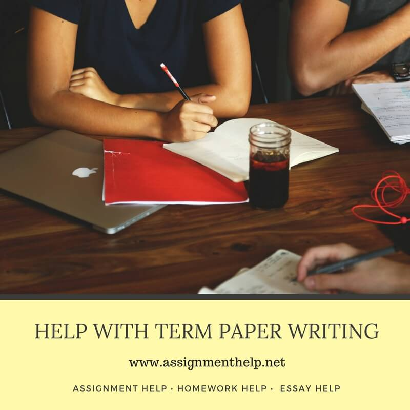 Help with Term Paper Writing