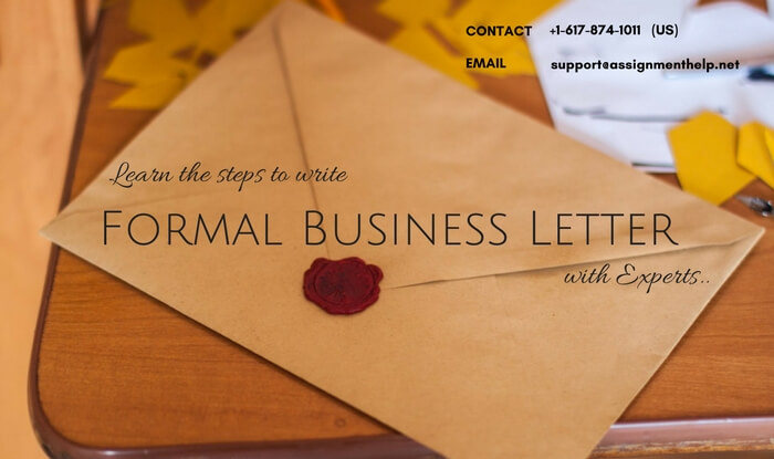 How to write Formal Business Letter