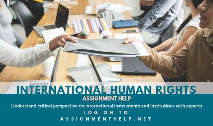 International Human Rights Assignment Help