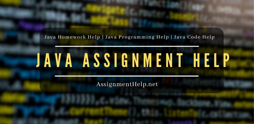 Java Assignment Help