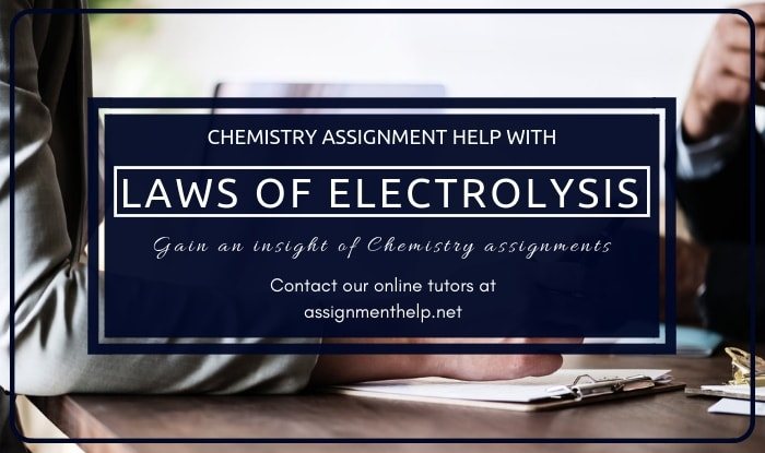 Laws of Electrolysis