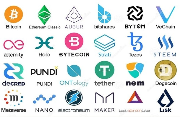 list of popular cryptocurrencies
