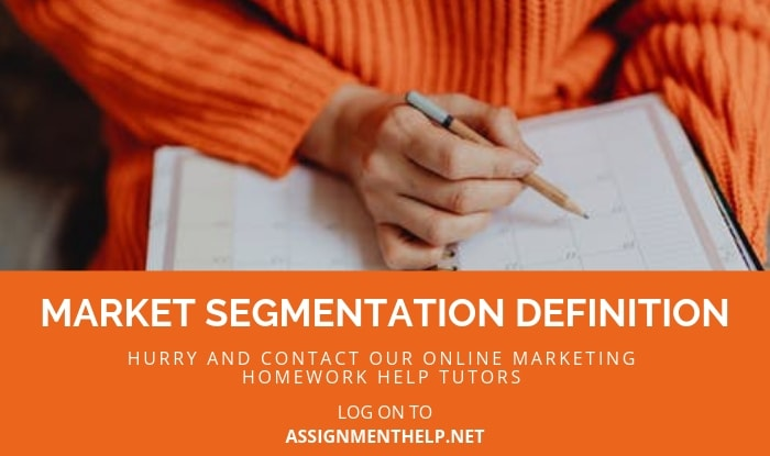 Market Segmentation Assignment Help