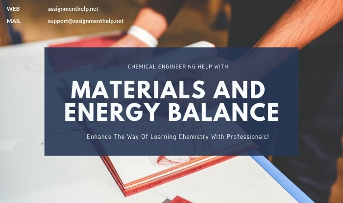materials and energy balance assignment help
