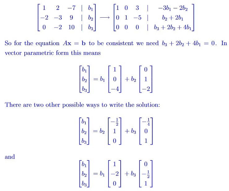 MATH1115 Algebra Solution Image 5