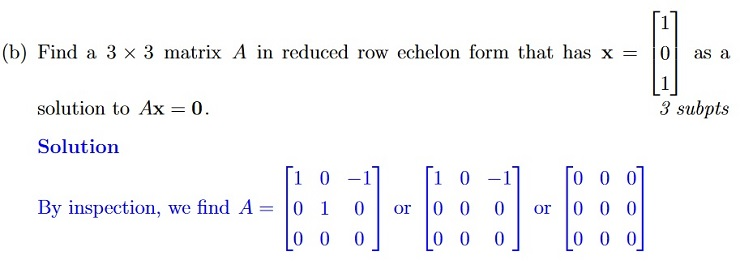 MATH1115 Algebra Solution Image 7