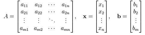 matrix equation