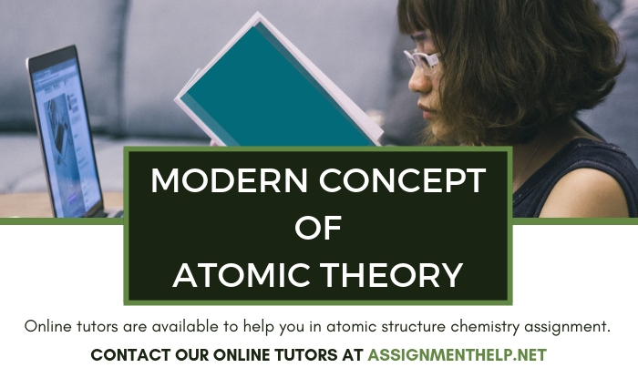 Modern Concept of Atomic Theory Assignment Help