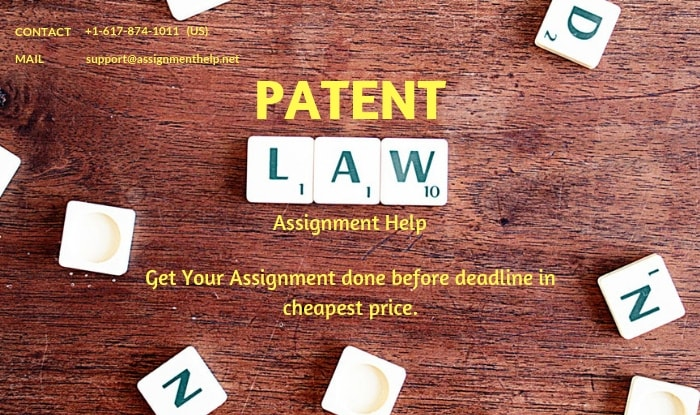 Patent Laws Assignment Help