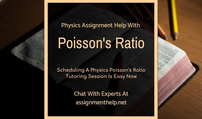 poisson ratio assignment help