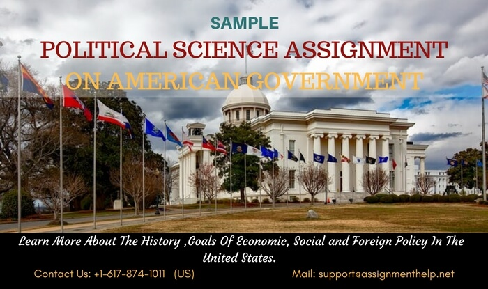 Sample political science assignment on American Government
