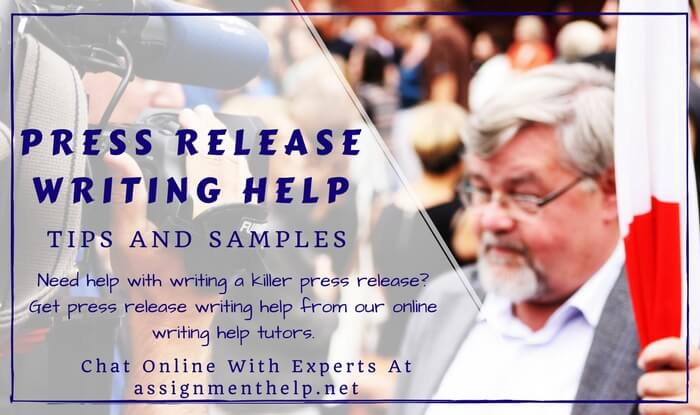 Press release writing service