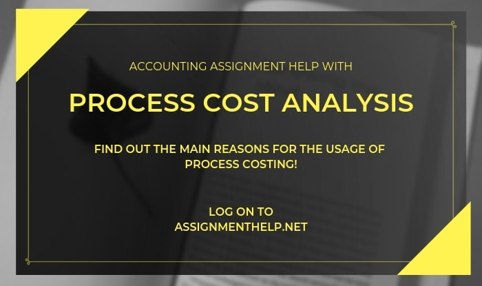 process cost analysis assignment help