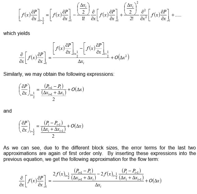 Discretization of the flow equations Image 3