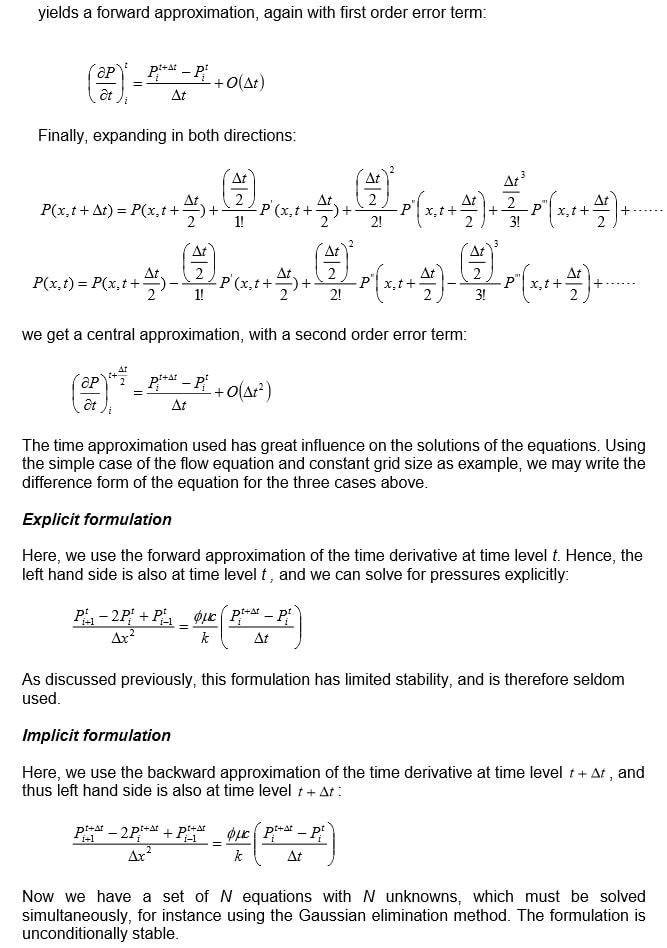 Discretization of the flow equations Image 7