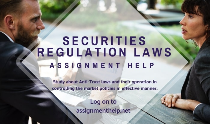 Securities Regulation Laws Assignment Help