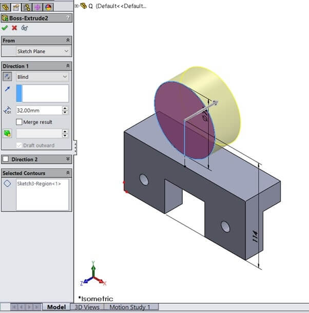SolidWorks Sample Assignment Image 11