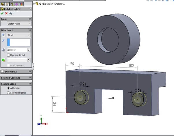 SolidWorks Sample Assignment Image 17