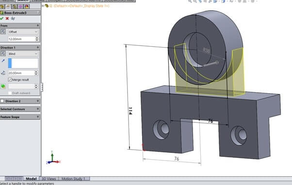 SolidWorks Sample Assignment Image 20