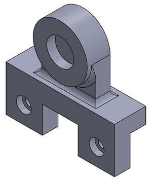 SolidWorks Sample Assignment Image 3