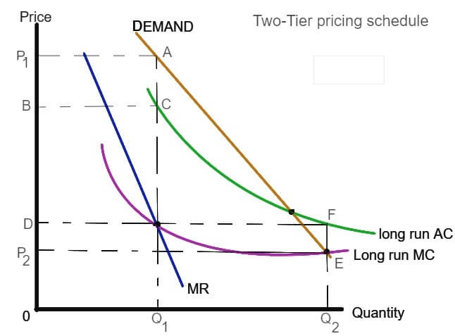 Two-Tier Pricing Schedule