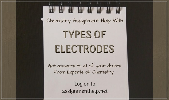 Types of Electrodes Assignment Help
