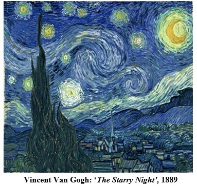 Vincent Van Gogh The Starry Night 1889