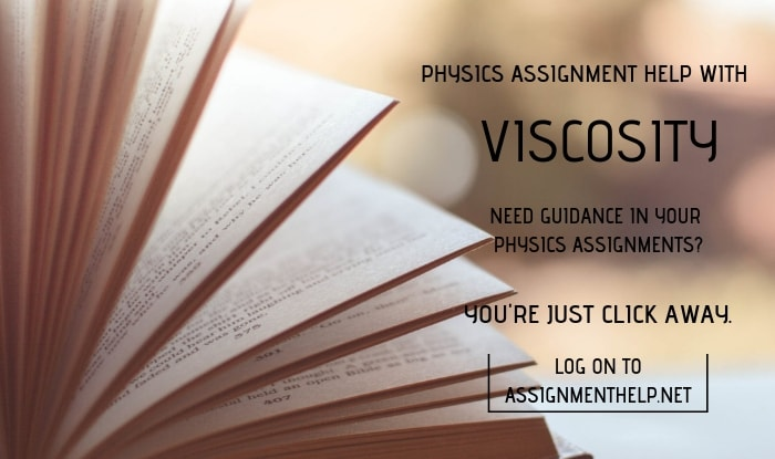 Viscosity Assignment Help